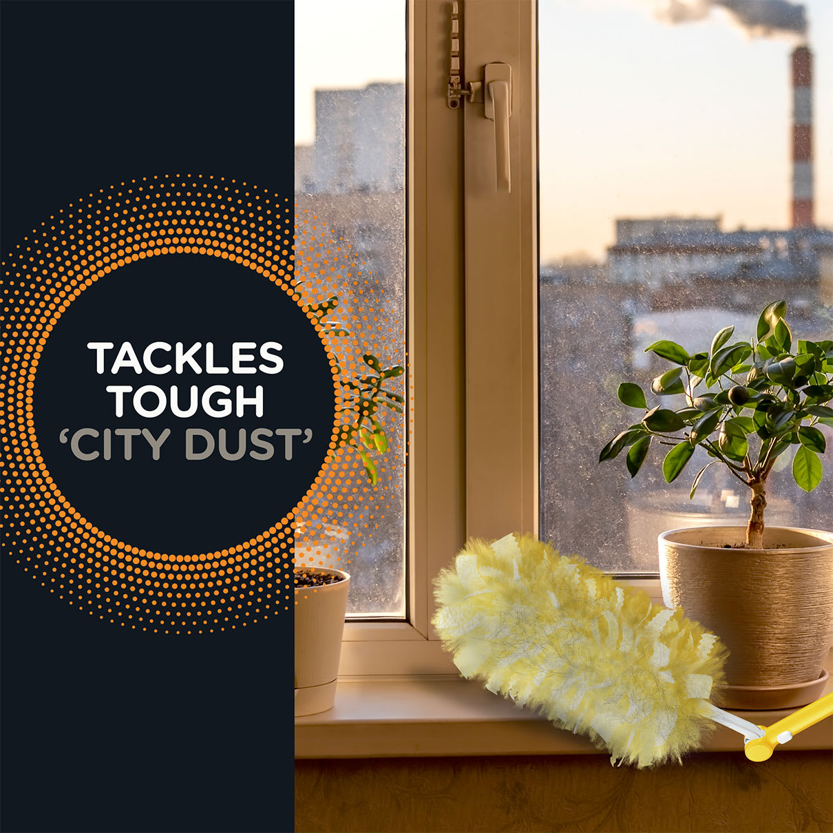 Swiffer Duster Tackles Tough City Dust