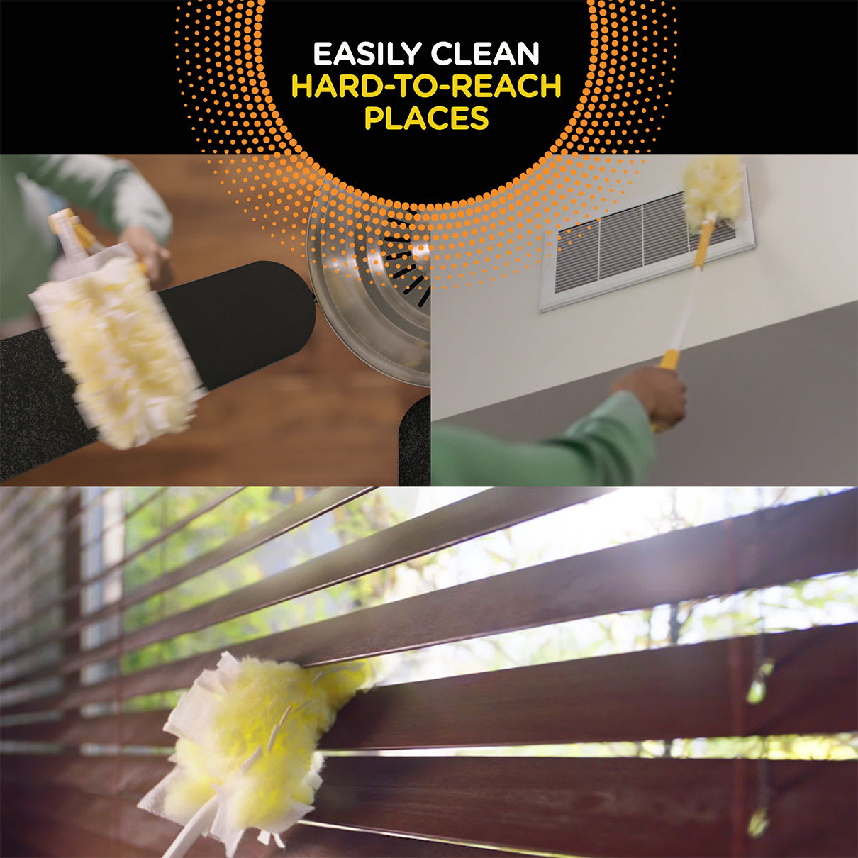 Swiffer Duster Easy Clean Hard to Reach Places