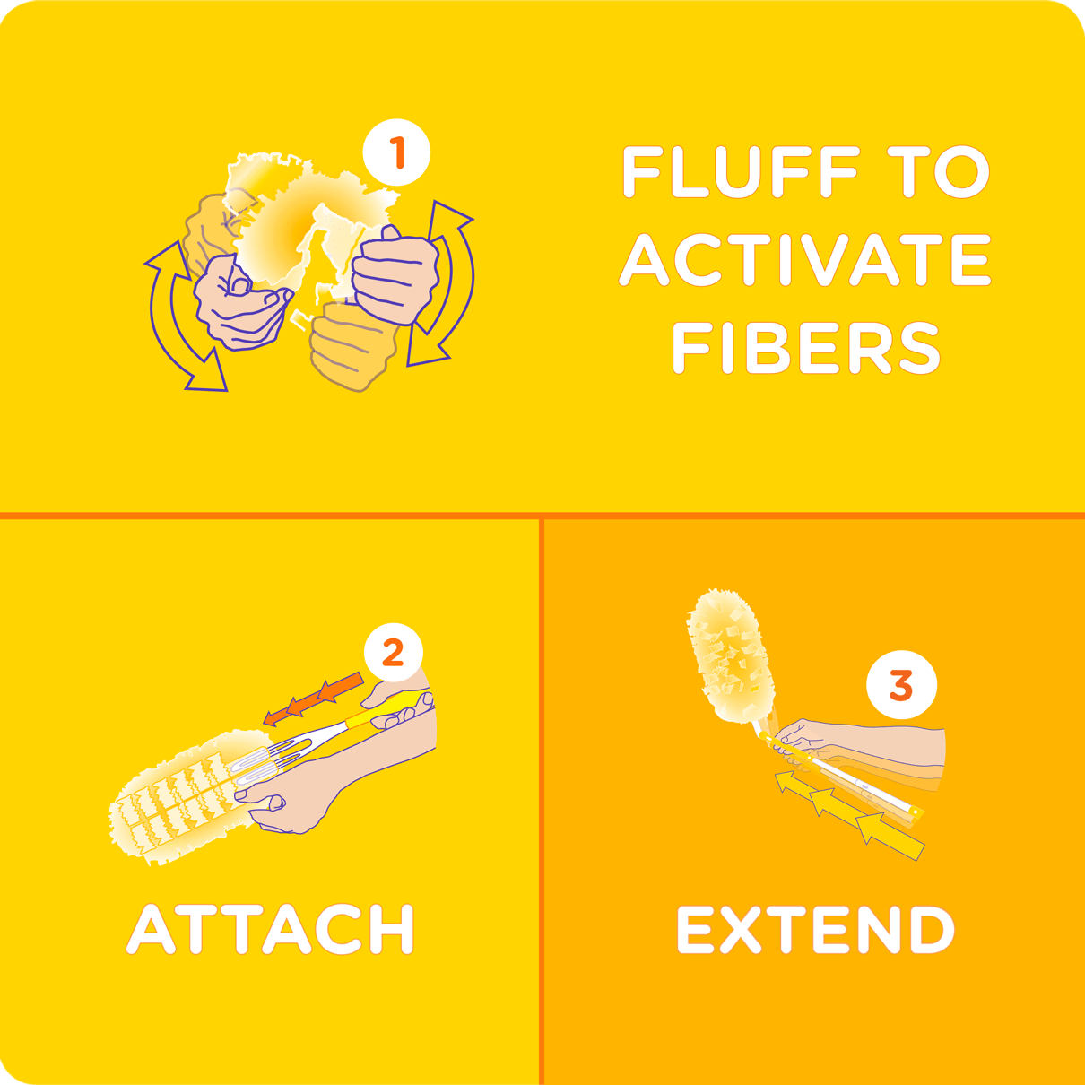Swiffer Duster Heavy Duty Extender Instructions
