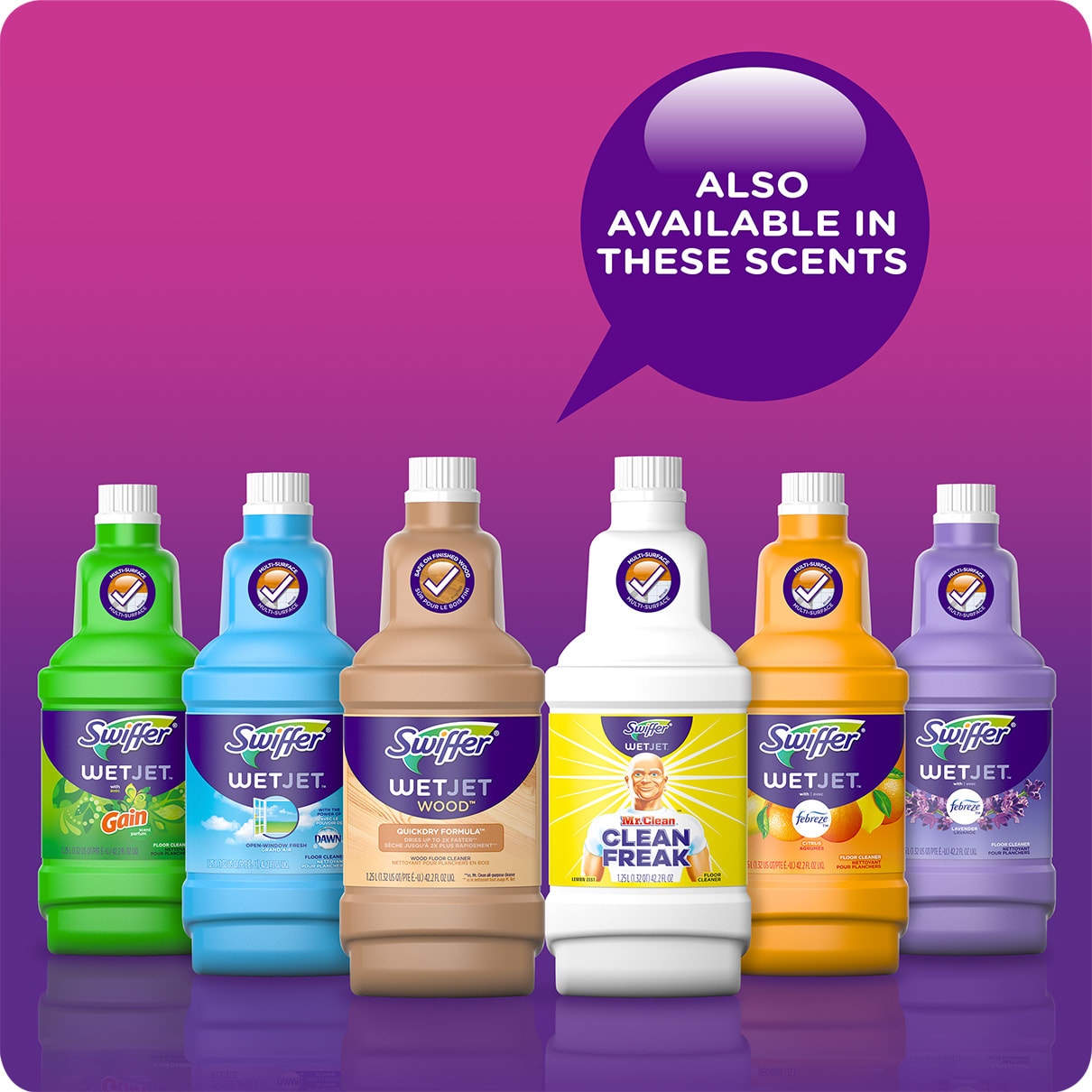 Swiffer WetJet Solution Also Available in These Scents