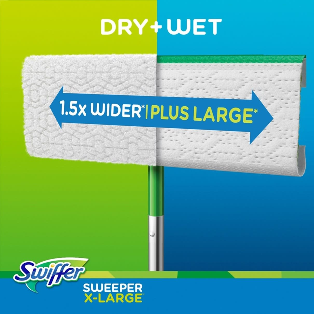 Swiffer Sweeper X large dry wet