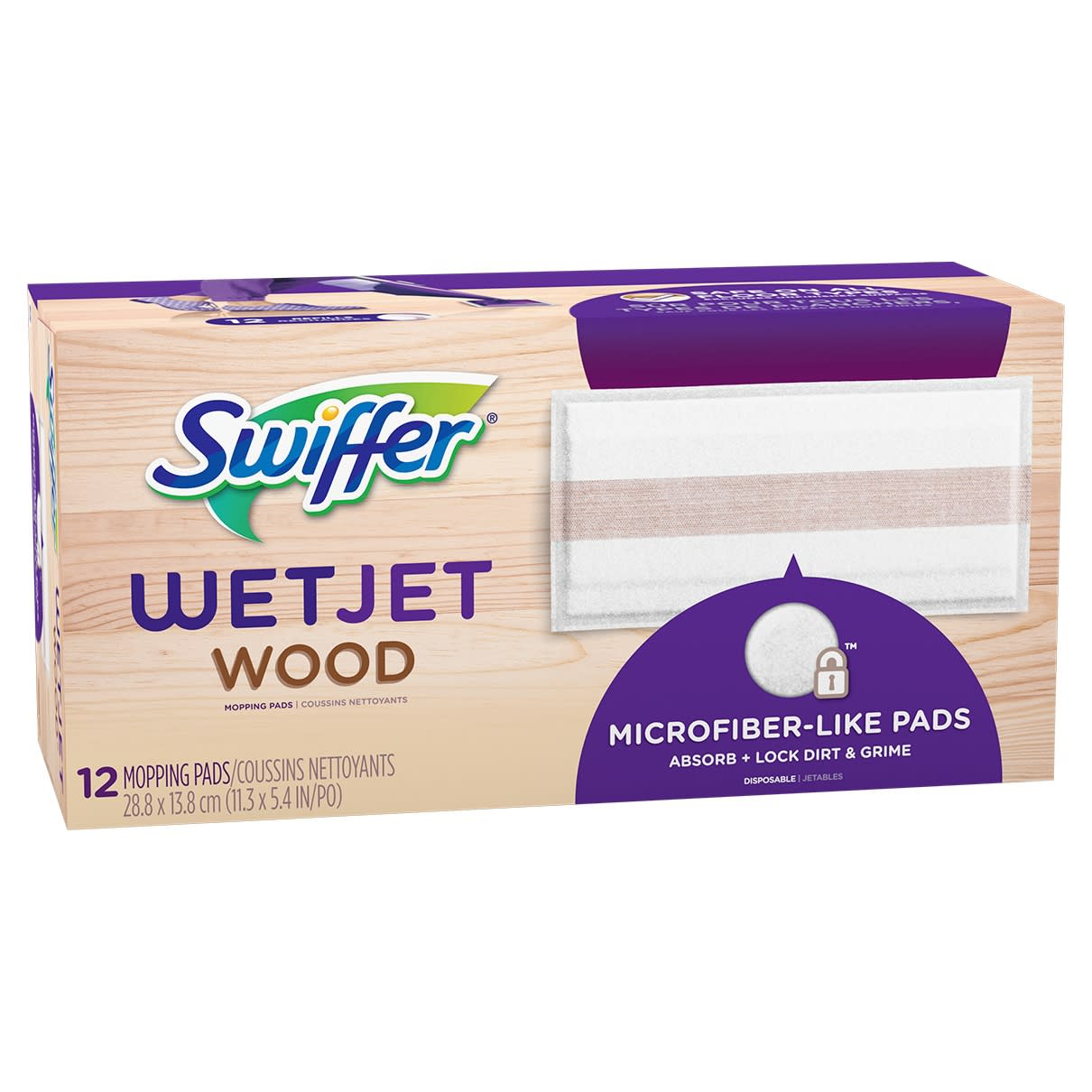Wetjet Wood Mopping Pad Refill Swiffer