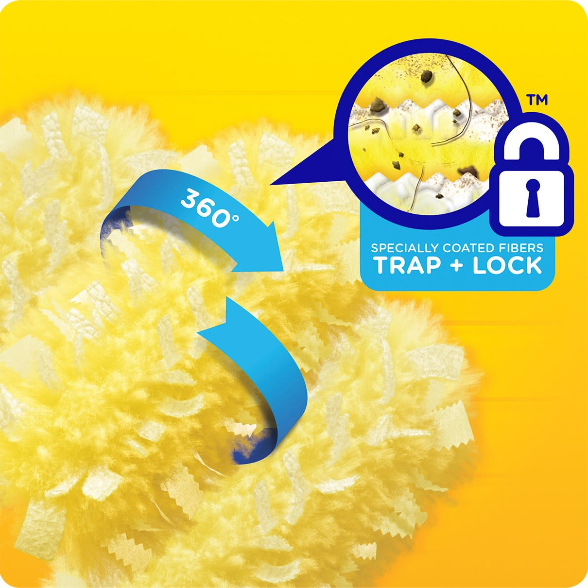 Swiffer Duster HD Refill Trap And Lock