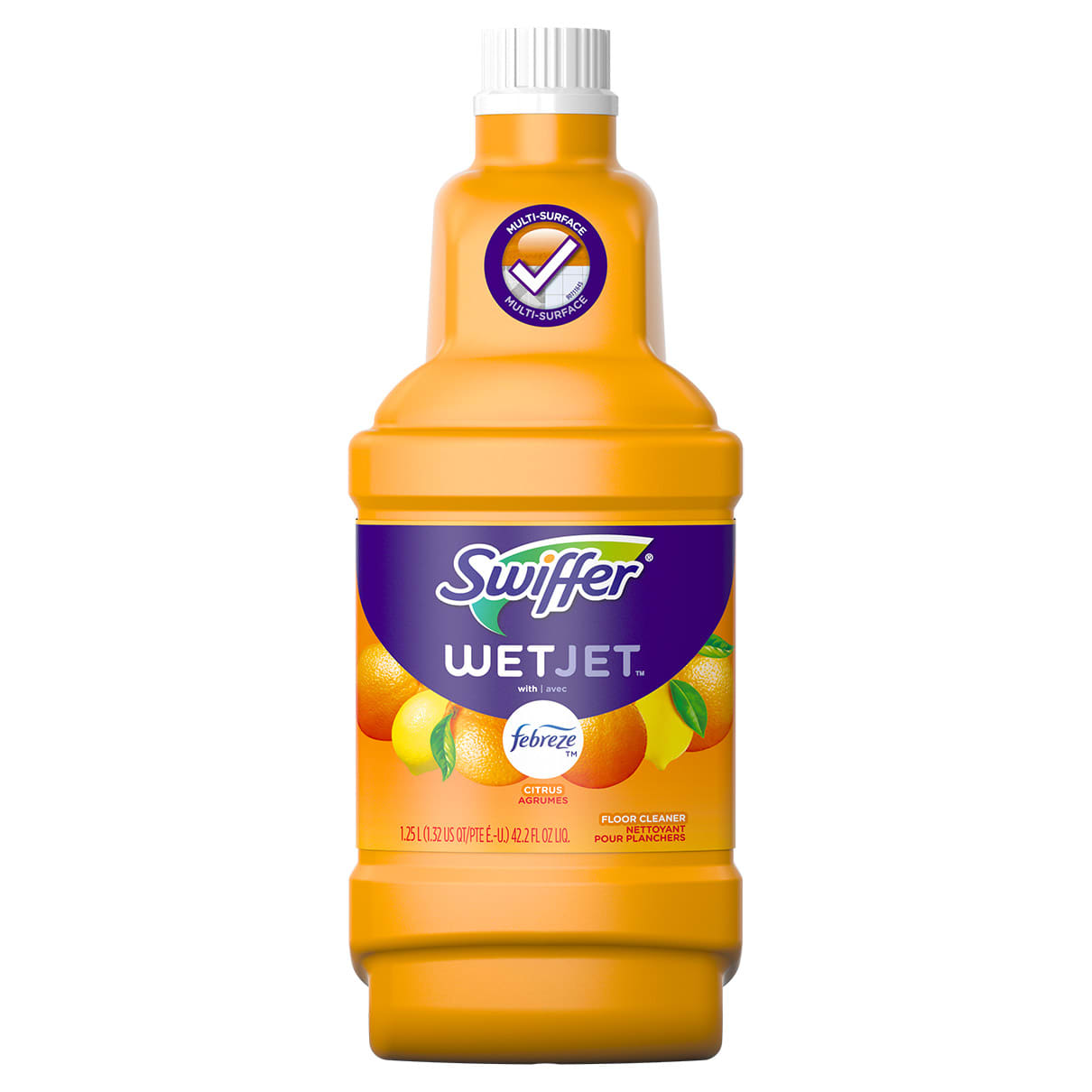 Swiffer Multi PurposepSolution W Febreeze Sweet Citrus and Zest