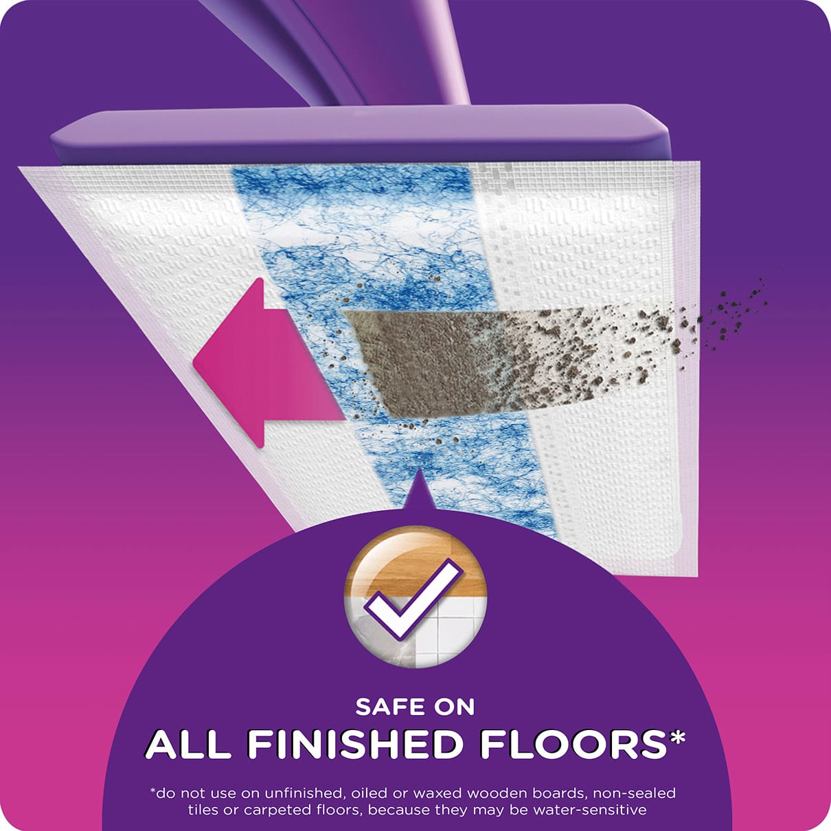 Swiffer WetJet HD Pad Refill Instructions Safe On Finished Floors