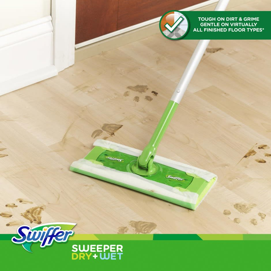 Swiffer Sweeper Floor Mop Starter Kit