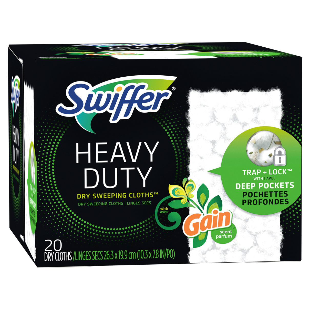 Sweeper Heavy Duty Multi Surface Dry Cloth Gain scent