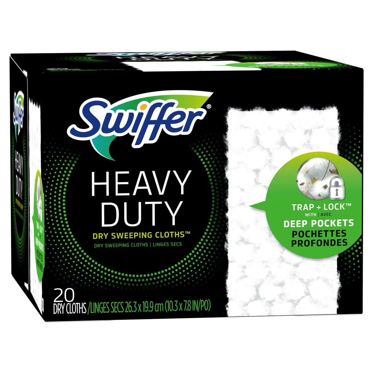 Sweeper Heavy Duty Multi Surface Dry Cloth Refills