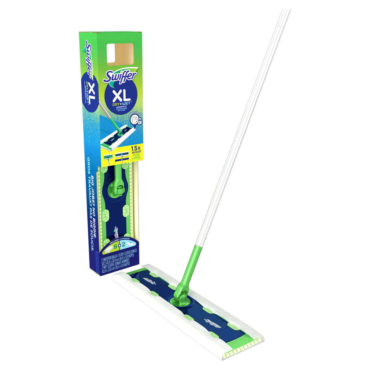 Swiffer Sweeper XL Dry+Wet