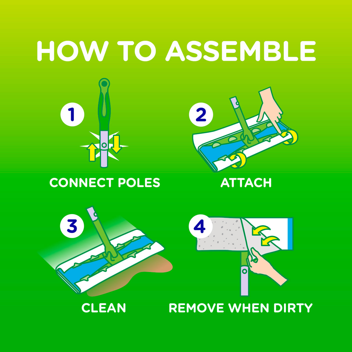 How to Assemble Swiffer Sweeper XL