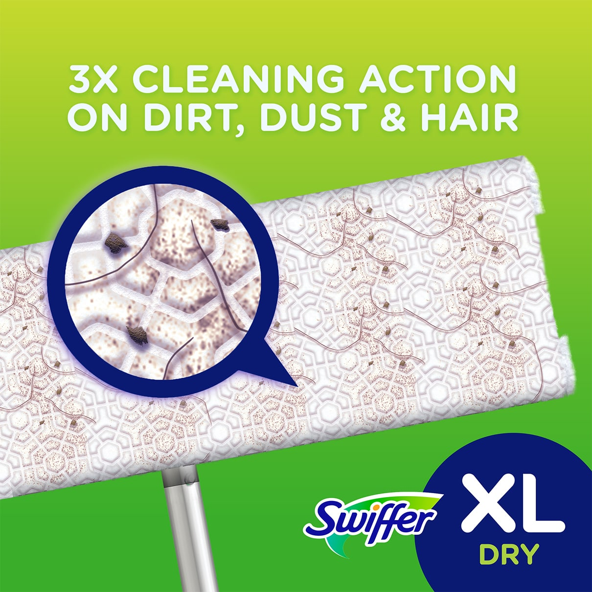 Sweeper 3X Cleaning Action