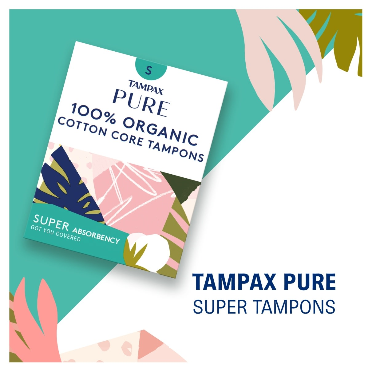 Tampax Pure Regular Absorbency
