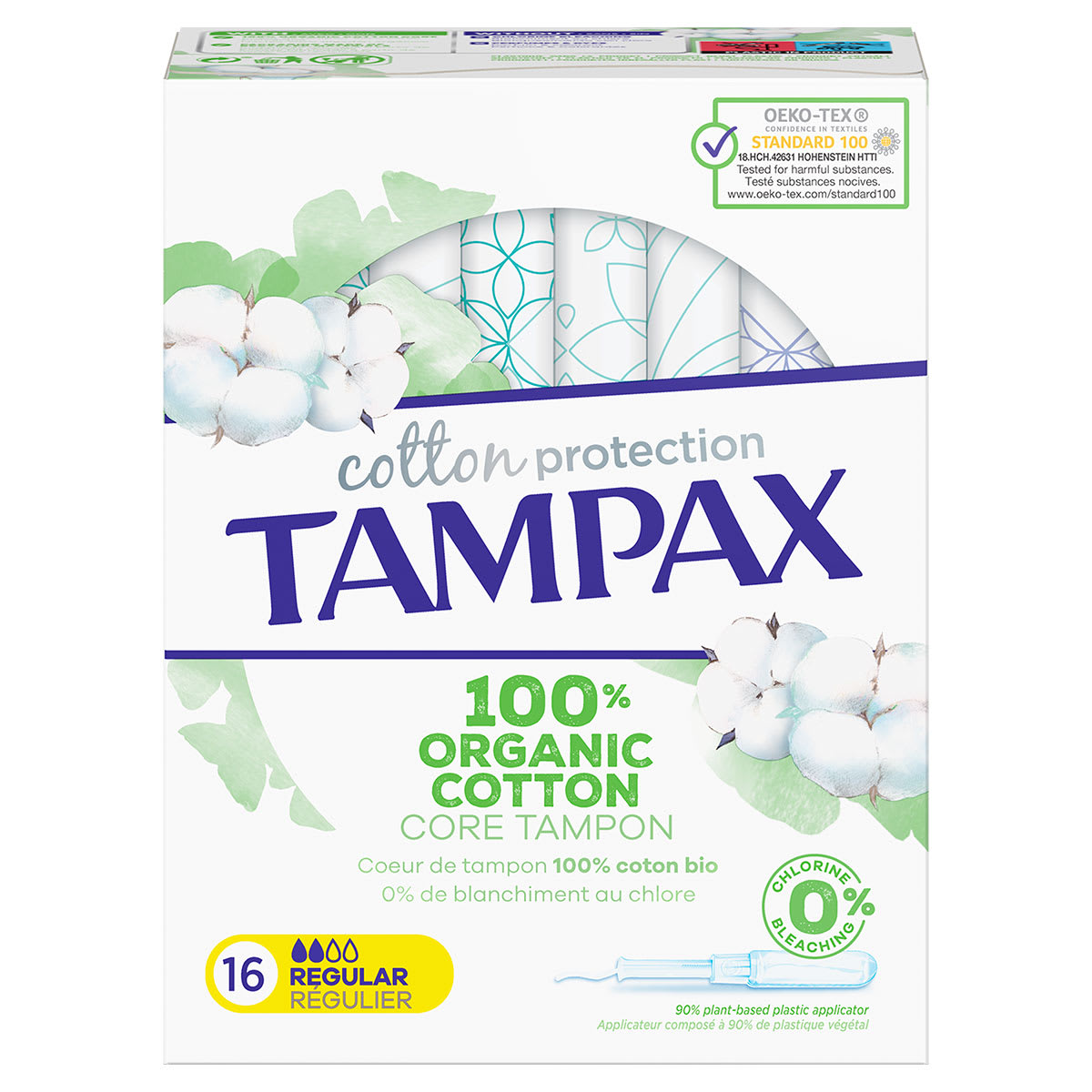 Tampones Tampax Cotton Protection Regular