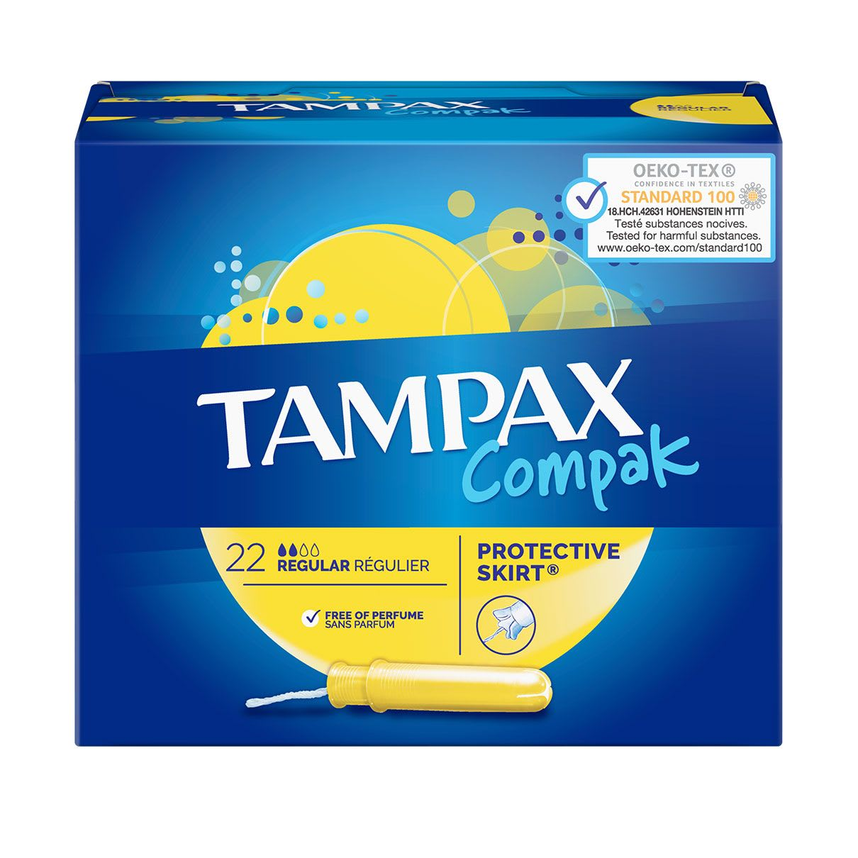 TAMPAX Compak Regular
