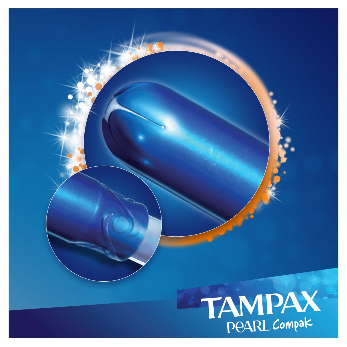 TAMPAX Pearl Compak Super Plus