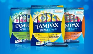 What are TAMPAX Tampons made of?