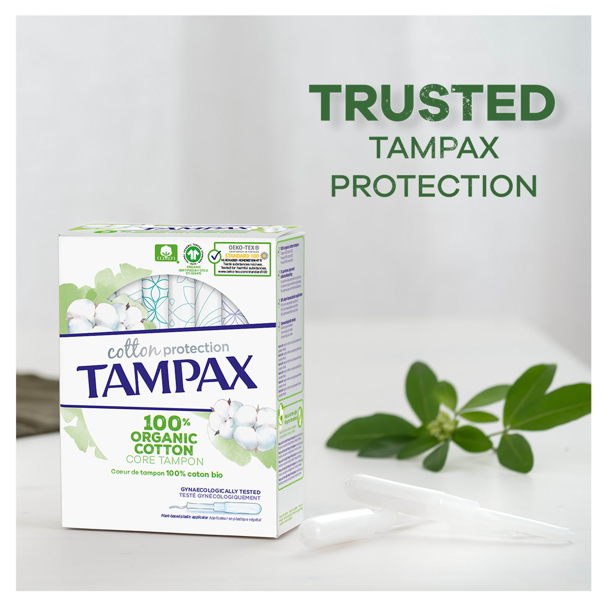Trusted Tampax protection