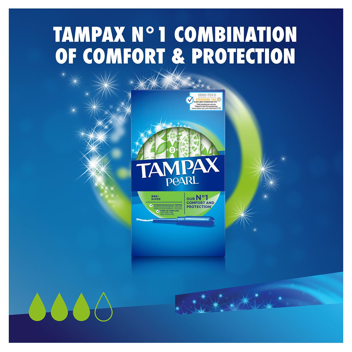 TAMPAX pearl applicator