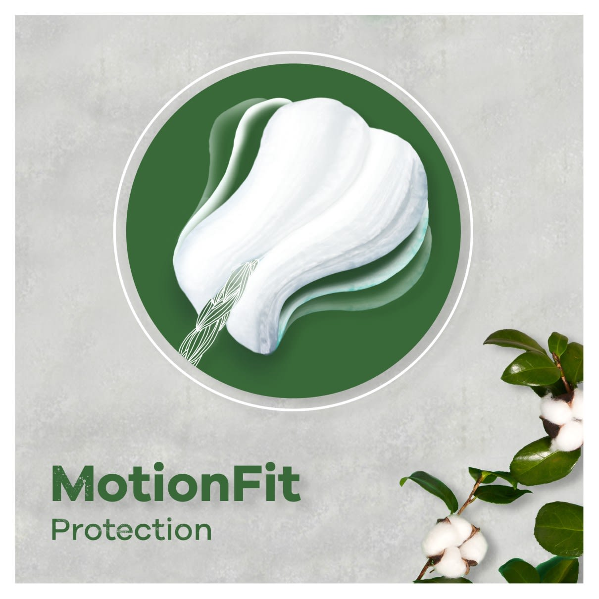 Tampax Lily Cotton Protection MotionFit Protection