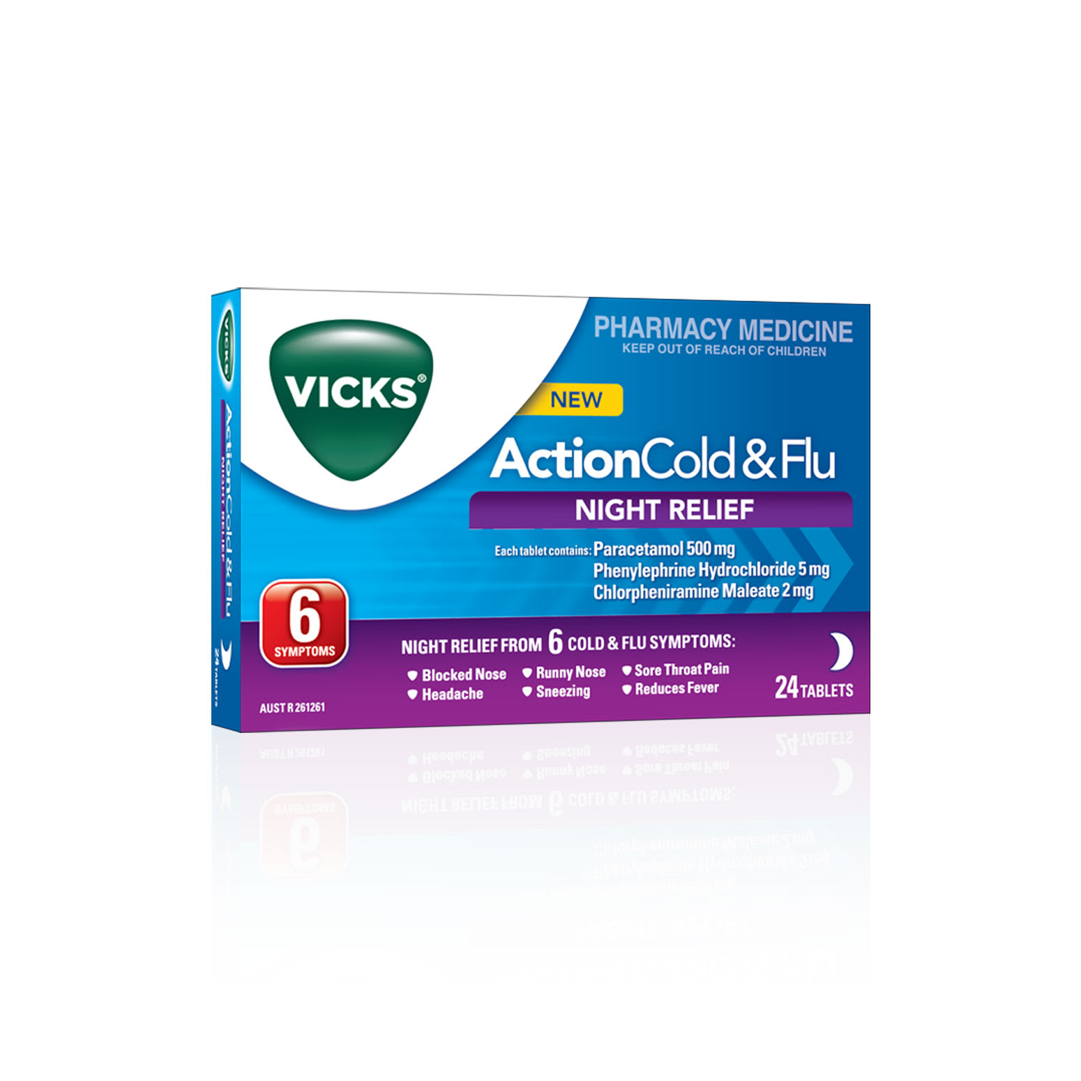 Vicks Action Night Relief