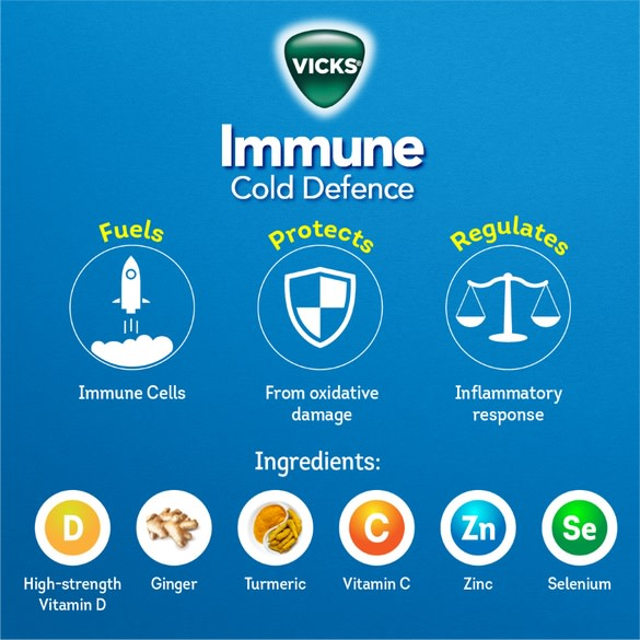 Vicks Immune Cold Defence Overview