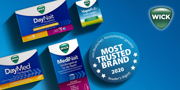 WICK erhält Most Trusted Brand Award 2020