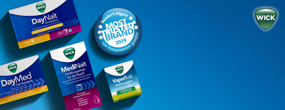 WICK erhält Most Trusted Brand Award 2019