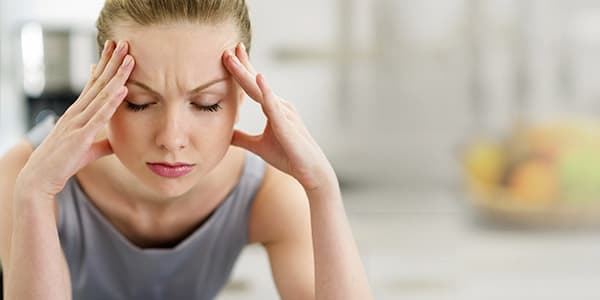 Identify a sinus headache with just one finger?