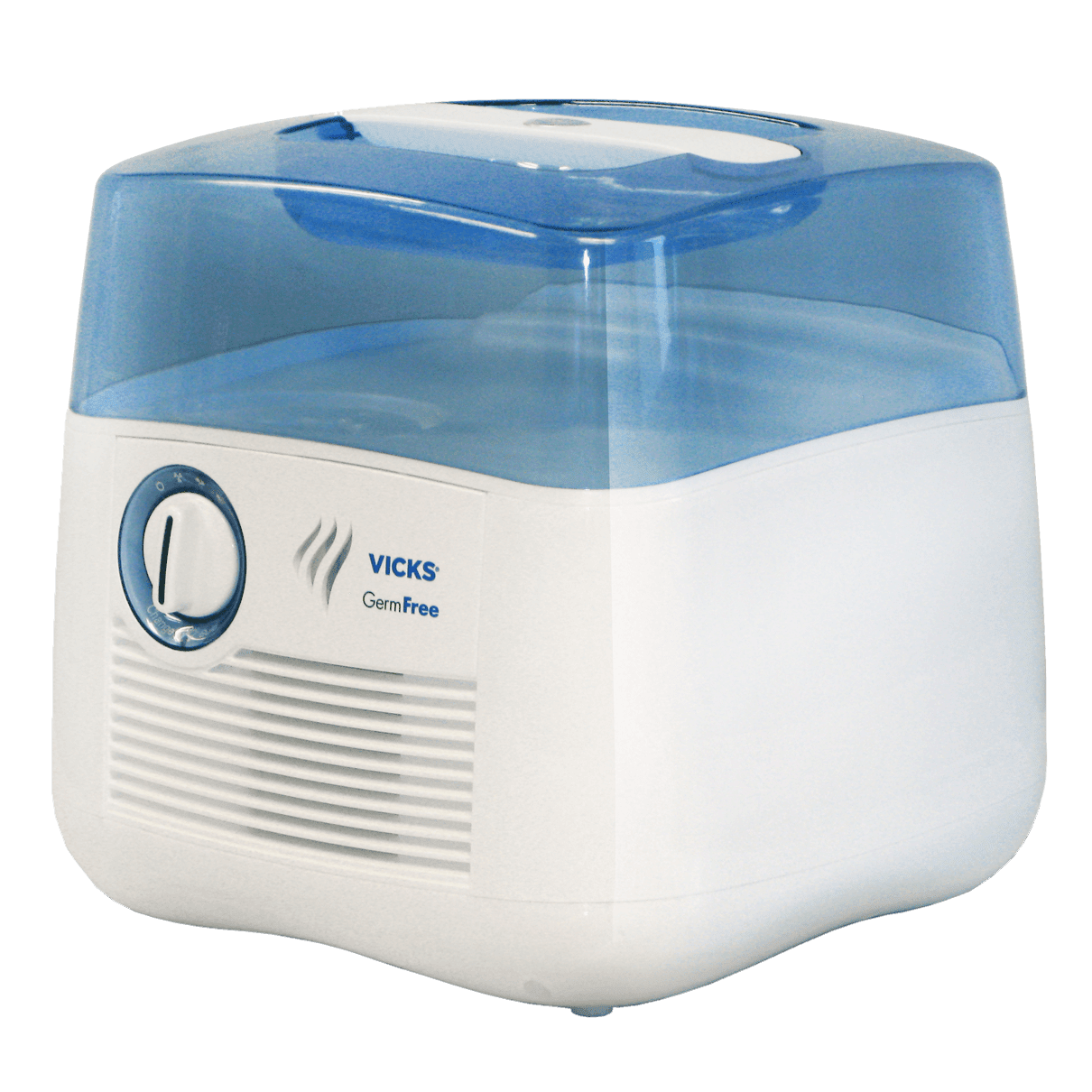 Vicks Filter Free Humidifier, WhiteBlue, 1 Count