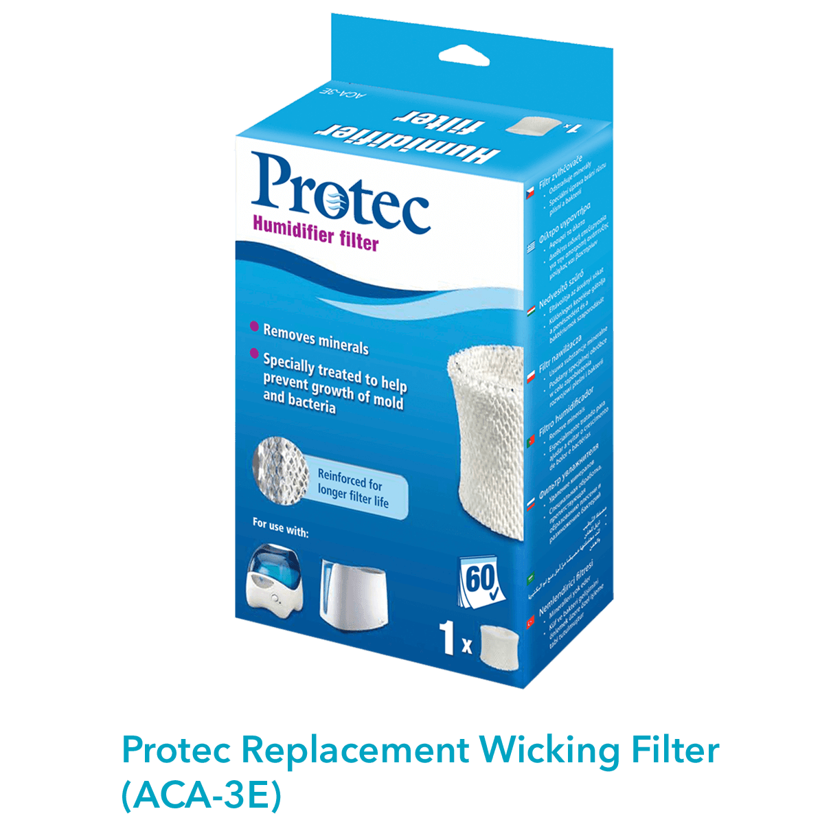 Protec replacement wicking filter