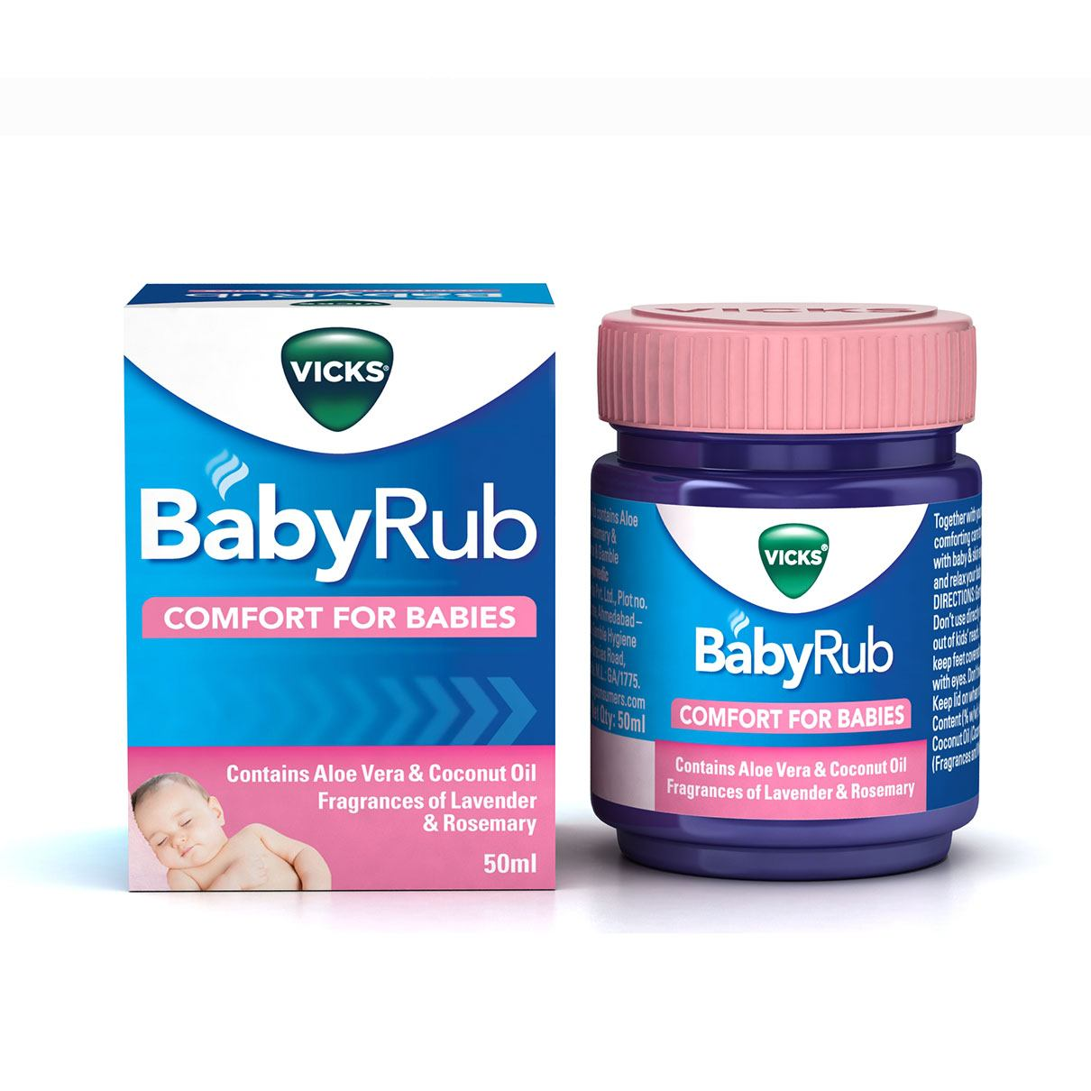 Vicks BabyRub 50ml Box