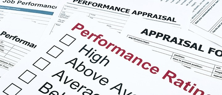 Annual Performance Review Paperwork