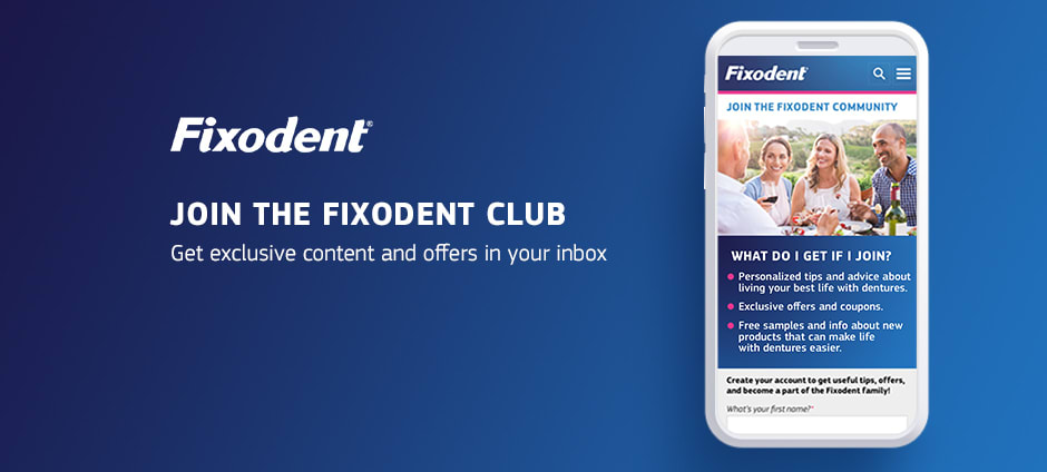 Join the Fixodent Club