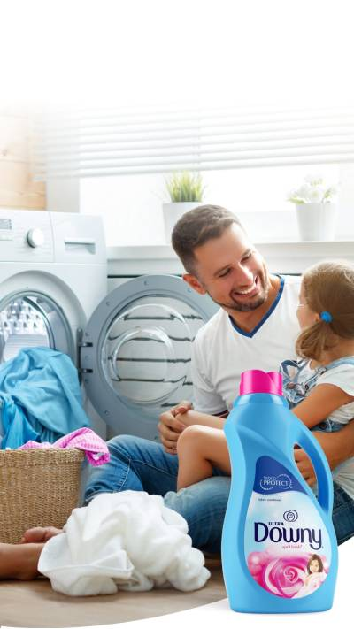 Show your love by Downy Fabric Softeners