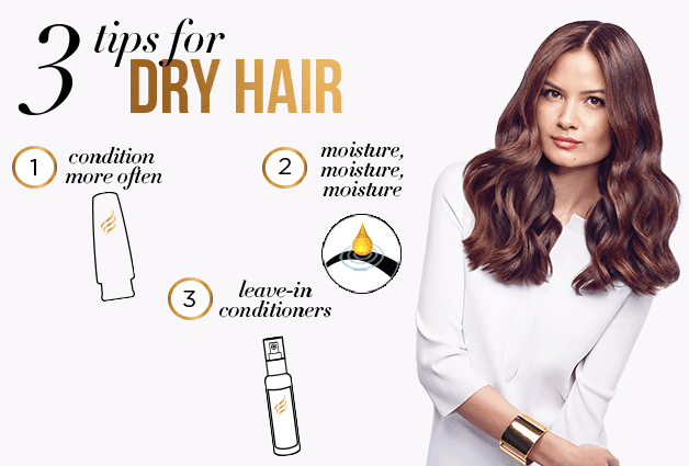 3 Tips for Dry Hair