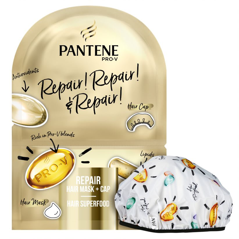 Pantene Repair Deep Conditioner Hair Mask & Cap
