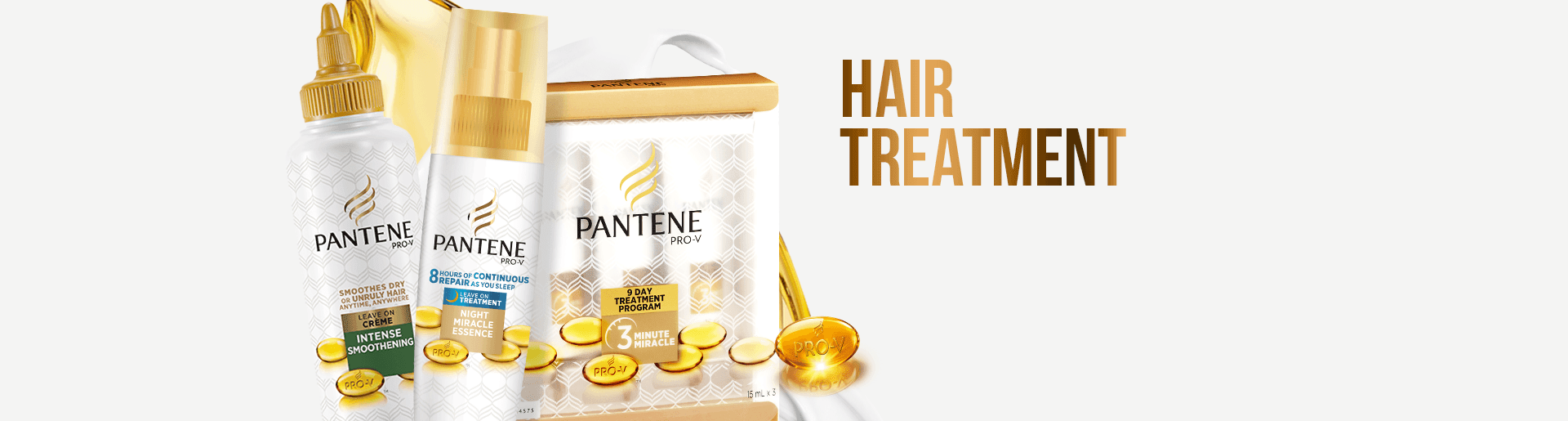 Pantene hair treatment