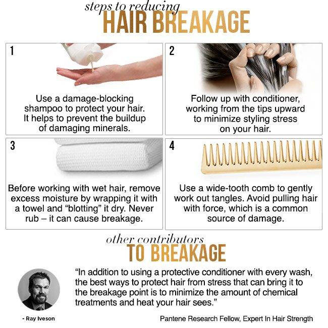 Steps to Reducing Hair Breakage