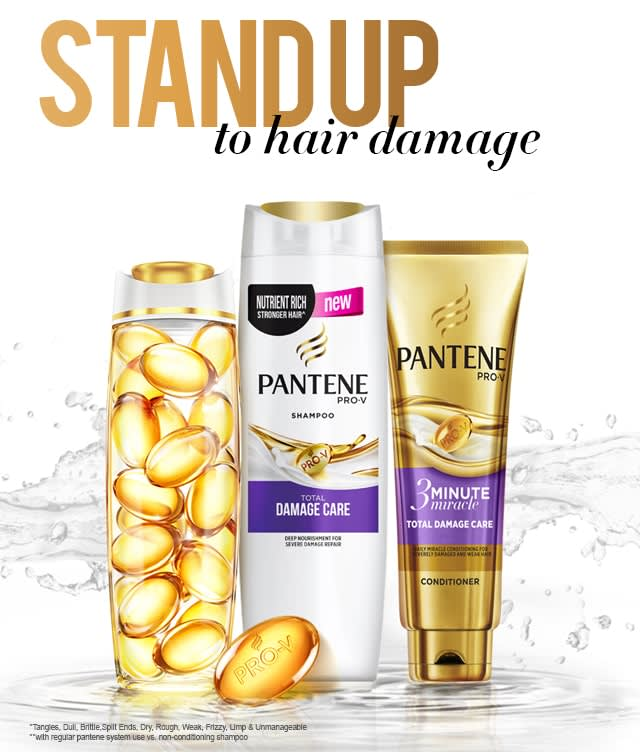 Stand up to hair damage