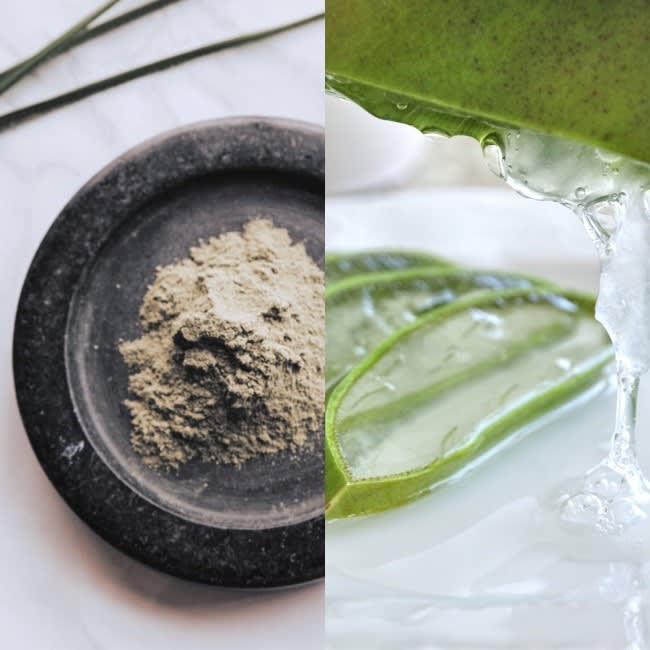 Bentonite Clay and Aloe Vera Hair Mask