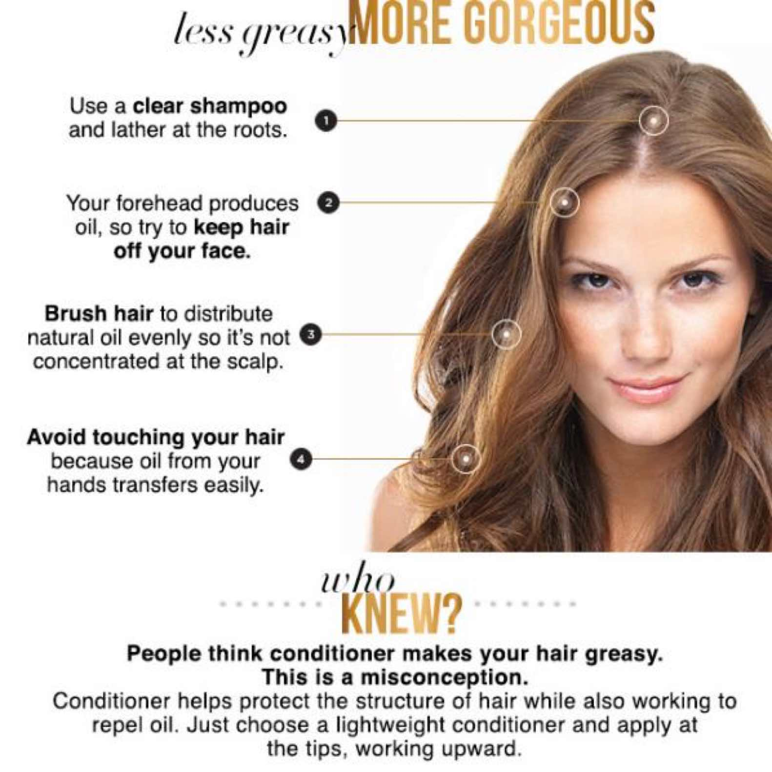 How to get rid of greasy hair2