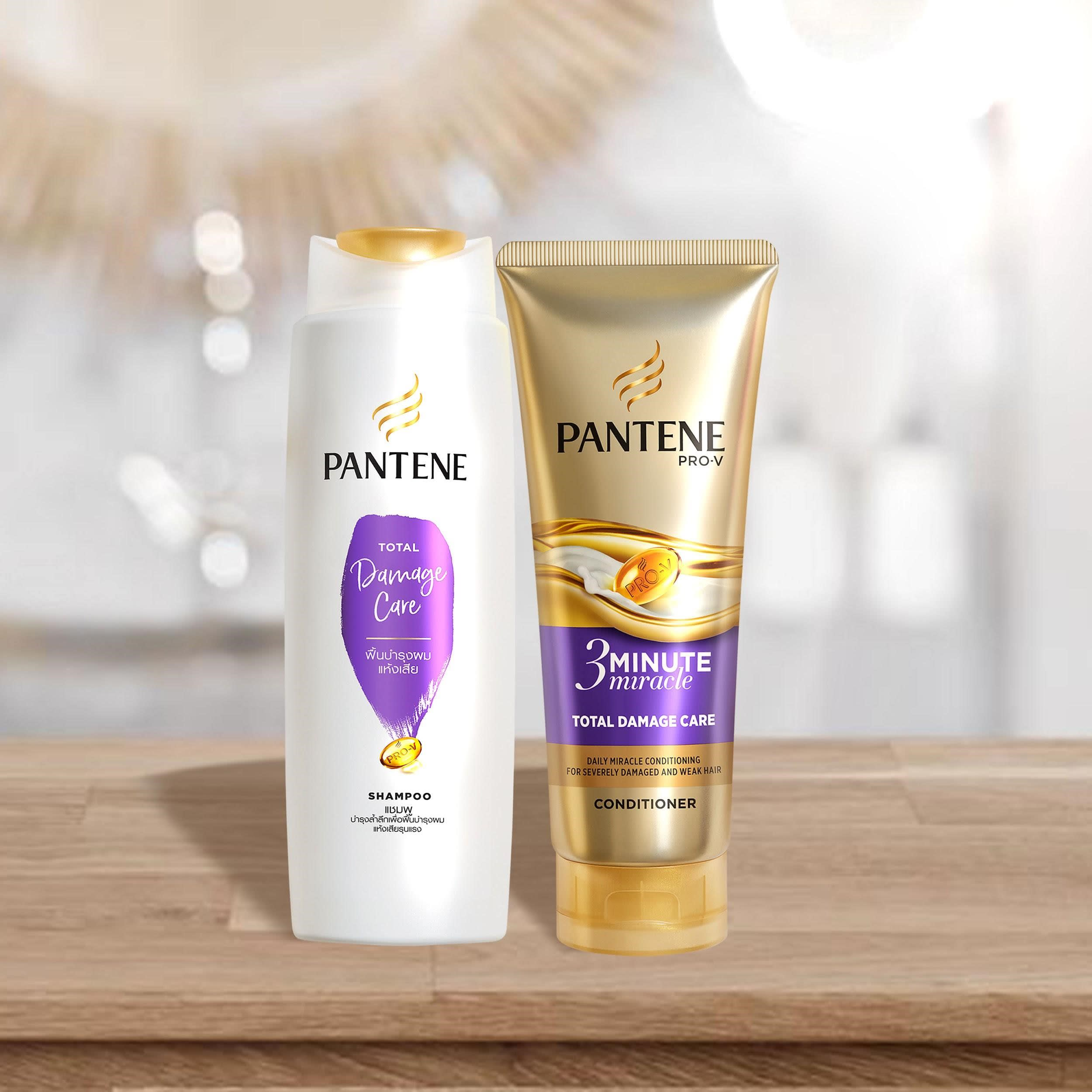 damage repairing treatments pantene