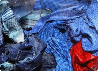 Chlorine in wash water can harm your clothes.