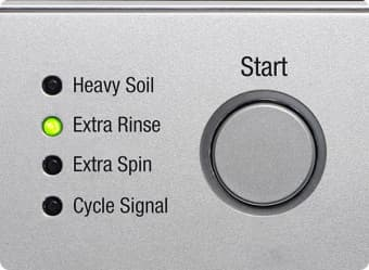 Try out the extra rinse setting on your washer to make sure no residue from the wash remains.