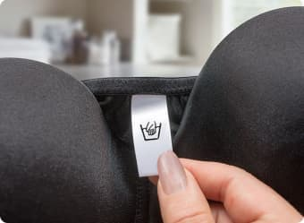 Read the care tag on your bras before washing.