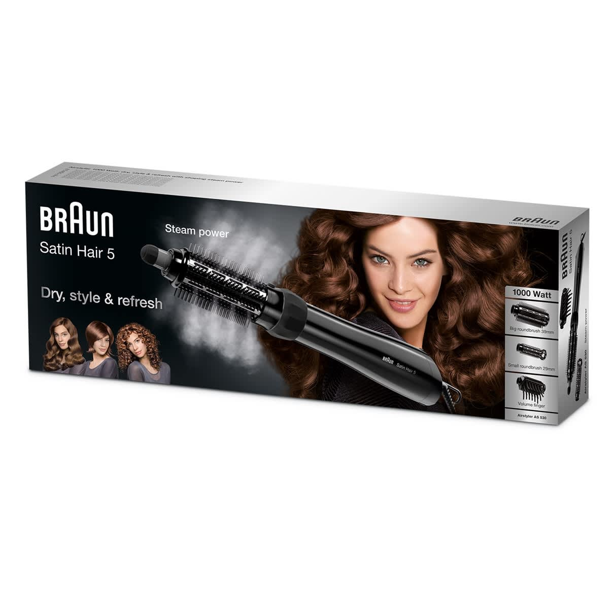 Satin Hair 5 Airstyler AS530 Verpackung