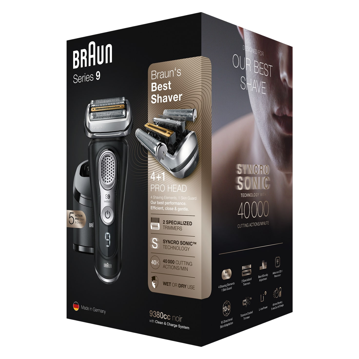 Series 9 9380cc shaver - Packaging