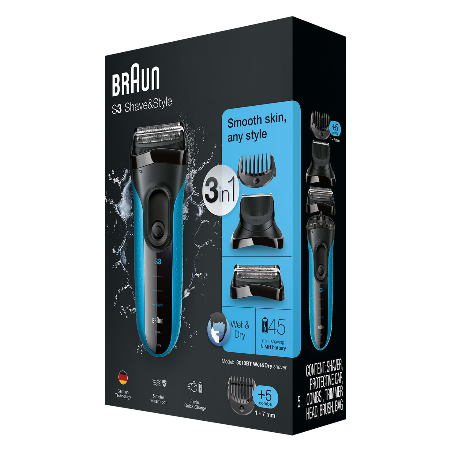 Series 3 ProSkin Shave&Style 3010BT