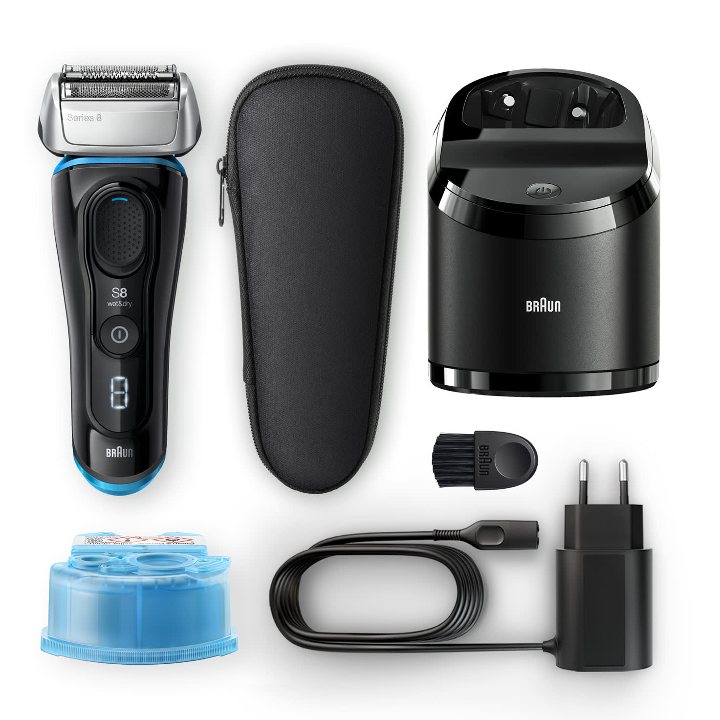 Series 8 8365cc shaver - What´s in the box
