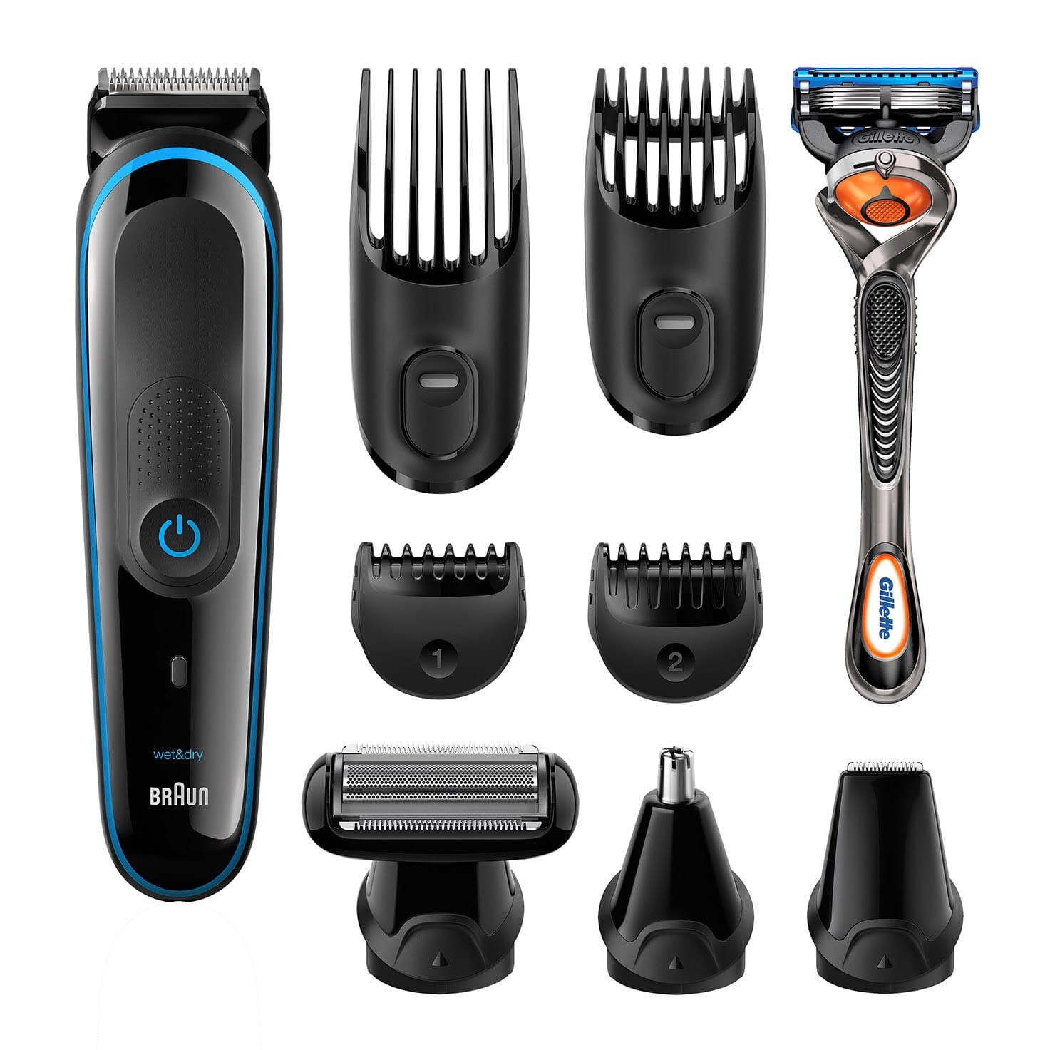 Braun multi grooming kit MGK3085 what´s in the box